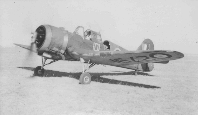 Miles Master of the Royal Canadian Air Force c.1940