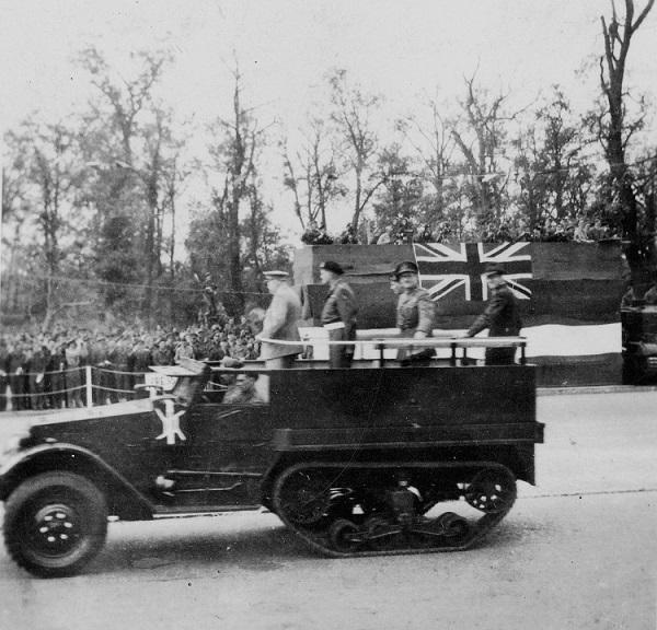 British Victory Parade, Berlin, Germany, 21 July 1945
