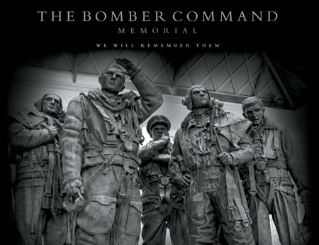 The Bomber Command Memorial : We Will Remember Them