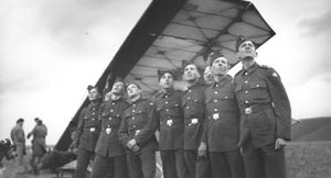 Cadets from yesteryear