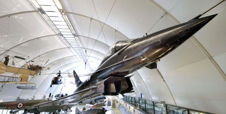 The DA2 Typhoon at the Royal Air Force Museum London