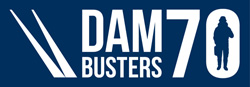 The Dambusters 70th anniversary logo