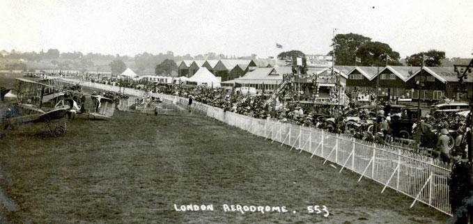 The London Aerodrome circa 1912