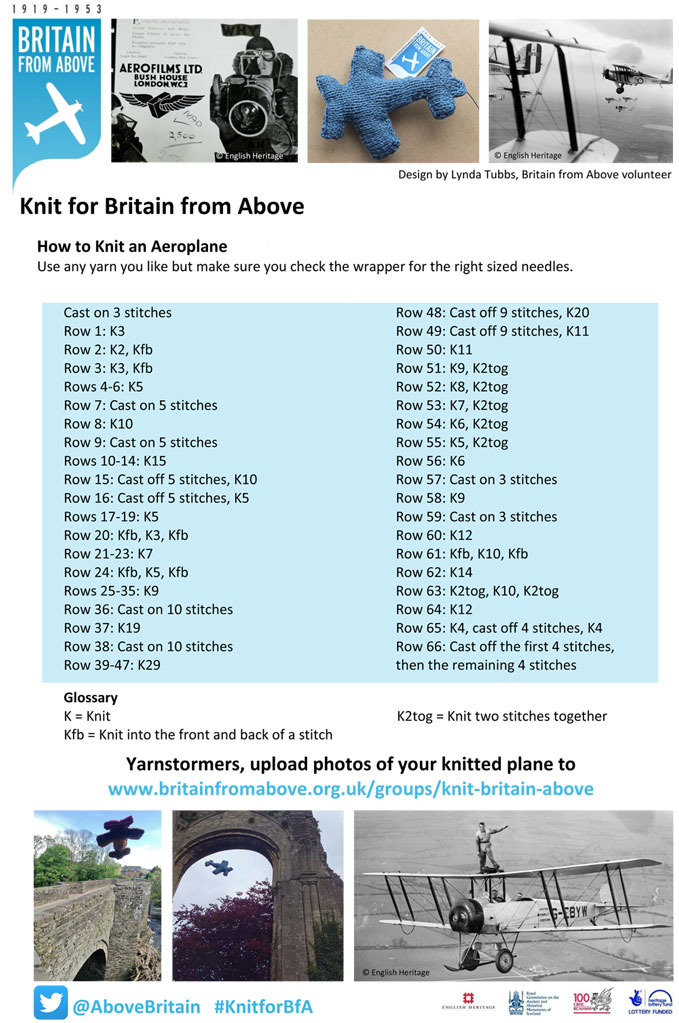 Knitting Events London : Knitting for britain raf museum