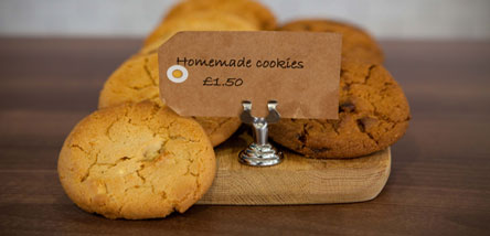 The perfect treat - delicious cookies from Wessex Cafe