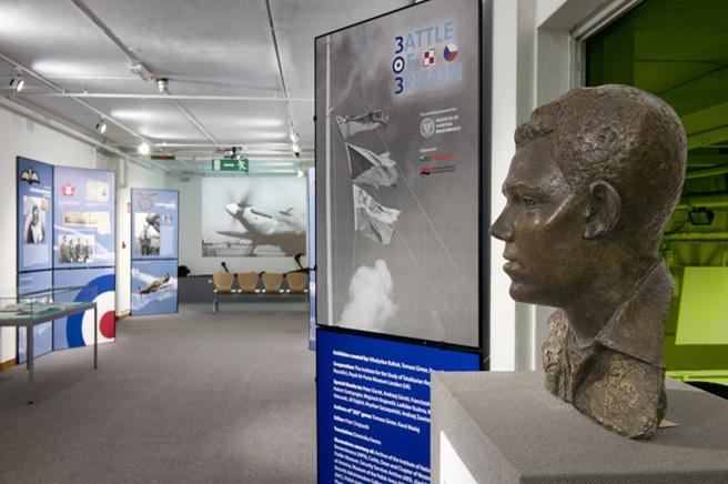 The completed exhibition as viewed by the public until 4th March 2012.