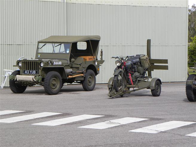 Some more military vehicles.