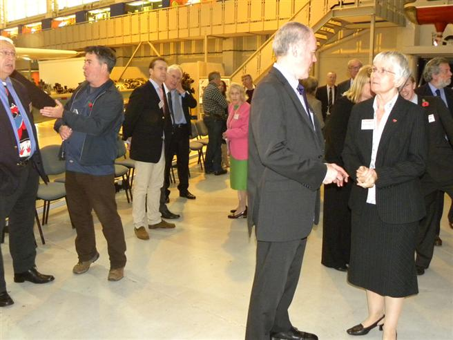 Comper Swift Unveiling at Cosford