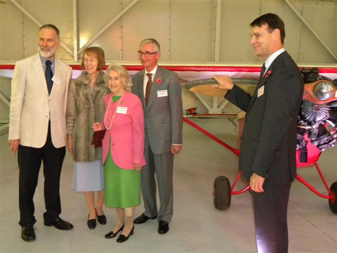 VIP guests and the Museum Director General.