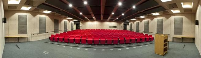 Panoramic view of our Auditorium