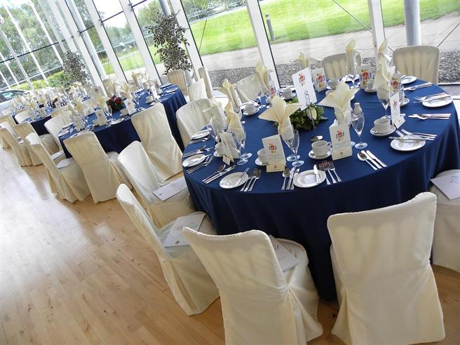 Stylish dinners available in our Visitor Centre for up to 120 guests