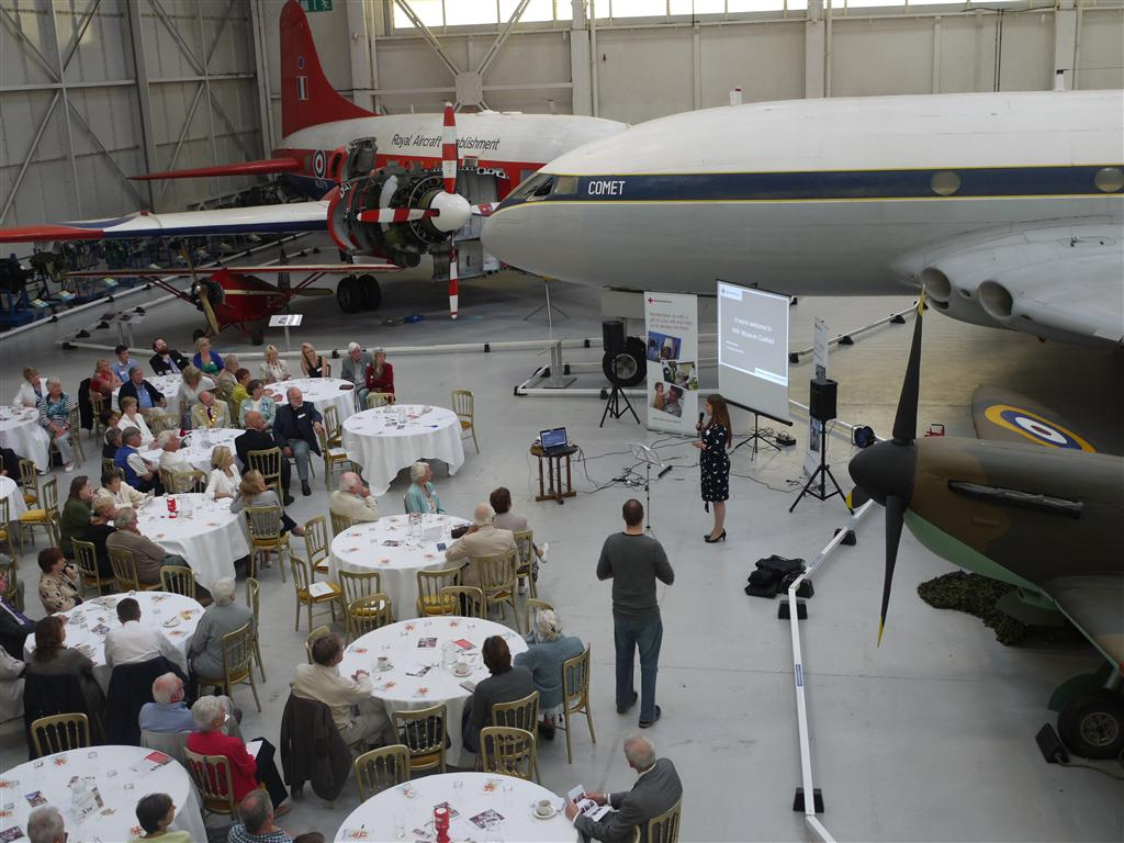 Hold your next conference in Hangar 1.