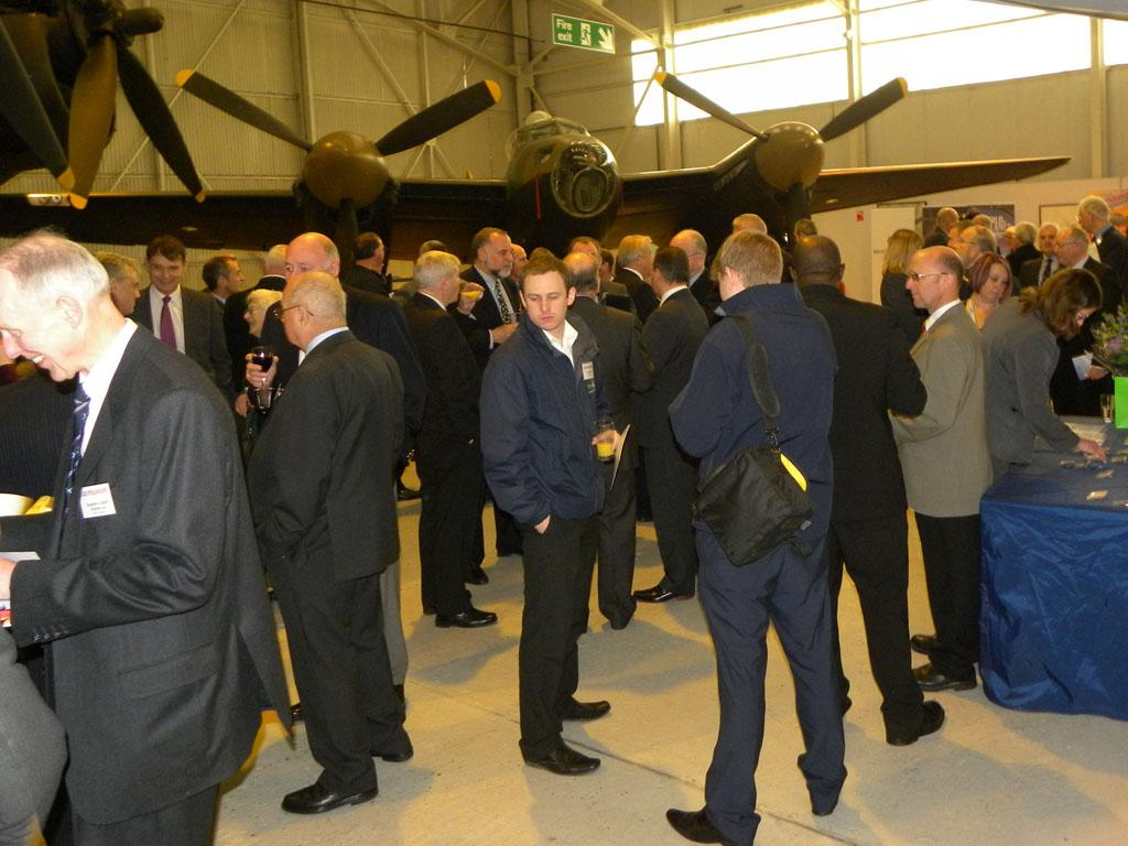 Guests arriving for the Dornier Do 17 event