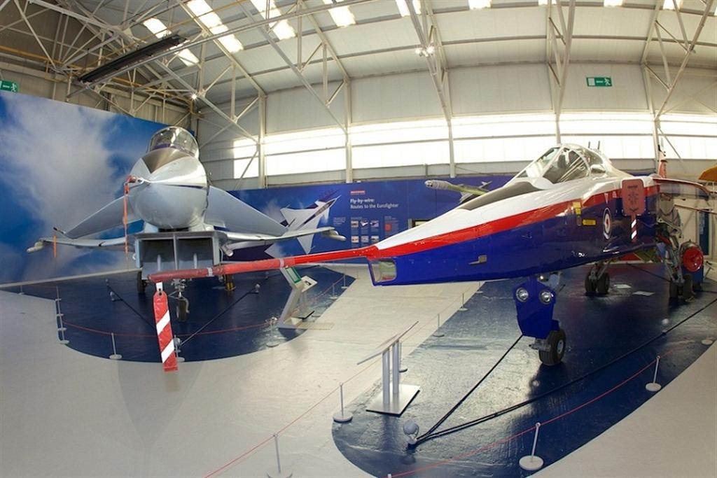 Experimental Aircraft Programme (EAP) technology demonstrator and the SEPECAT Jaguar ACT Demonstrator