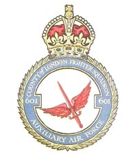 No. 601 Squadron badge