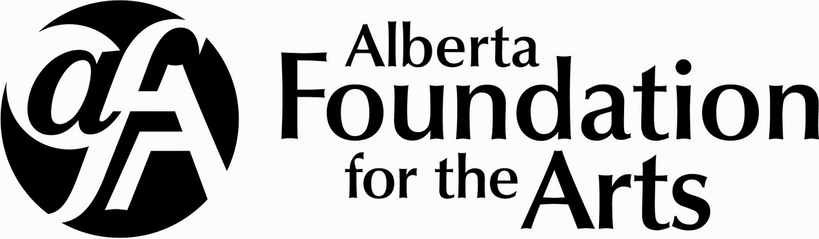 The Alberta Foundation for the Arts logo