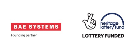 BAE Systems and Heritage Lottery Fund logo