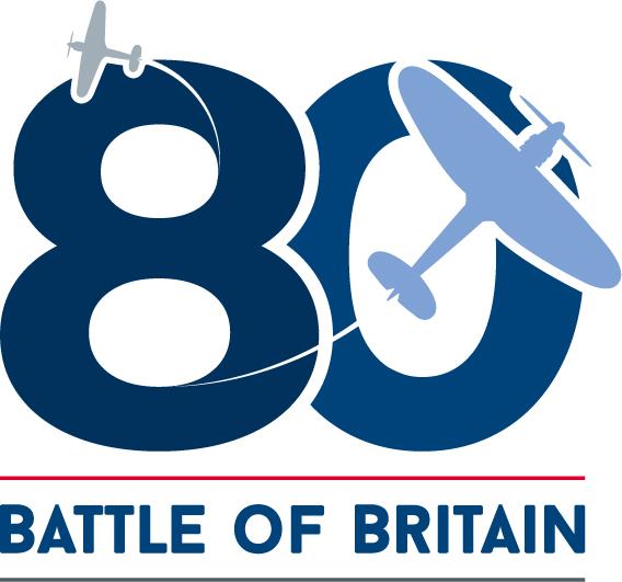 Battle of Britain 80th anniversary logo