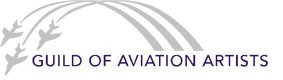 Guild of Aviation Artists Logo