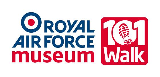 The Royal Air Force Museum's 101 Walk Logo