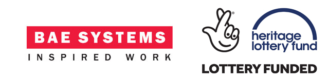 BAE Systems and Heritage Lottery Fund Logos