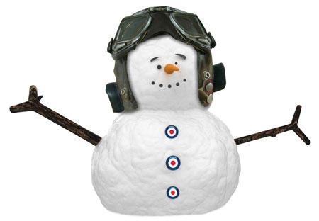 Roundel Snowman