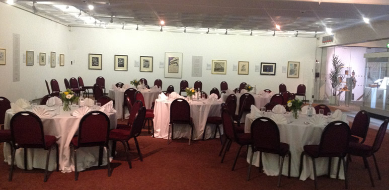 Host a private lunch in our Art Gallery