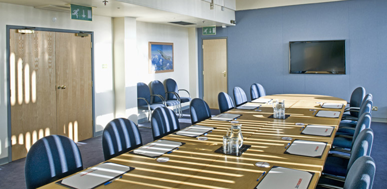 Our London Museum's Boardroom - ideal for our day delegate rate package