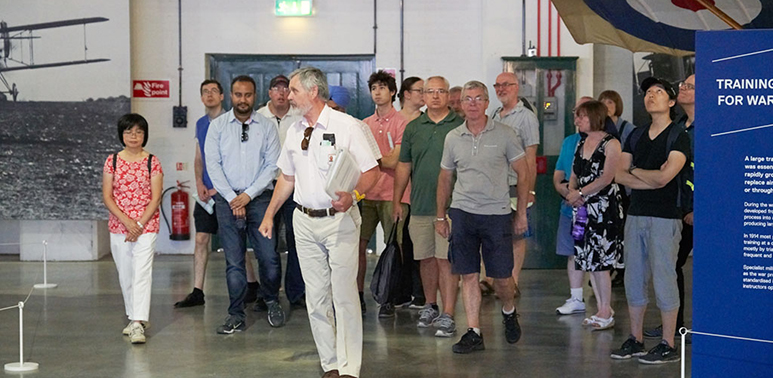 Guided Tours at the RAF Museum London