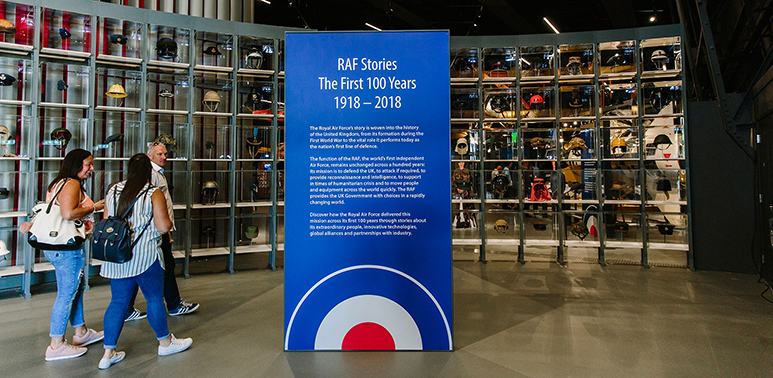 'RAF Stories: The First 100 Years 1918-2018' exhibition at our London Museum