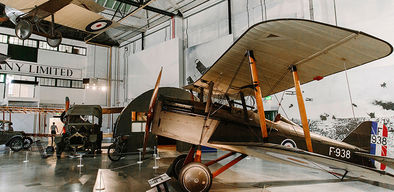 'First World War in the Air' exhibition