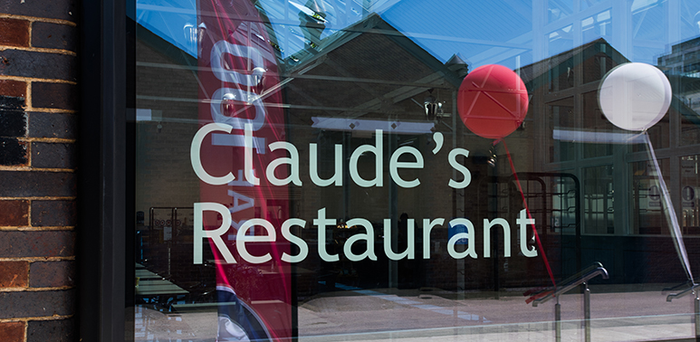 Claude's Restaurant at the RAF Museum London