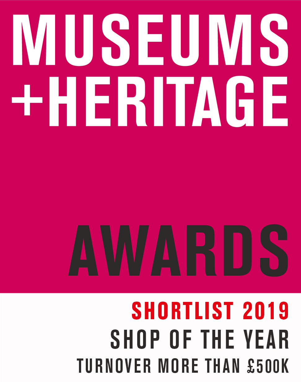 The RAF Museum London's Shop is shortlisted for the Shop of the Year (Turnover more than £500k) by the Museums + Heritage Awards