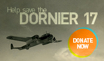 Fundraising to save the Dornier 17