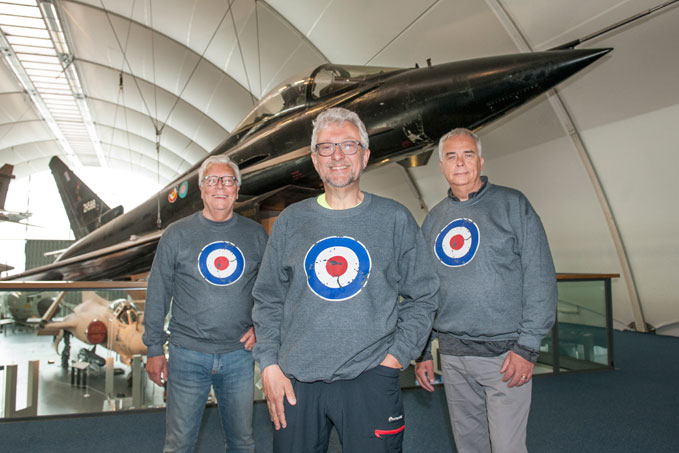 RAF Museum Trustees, Alan Coppin, Nick Sanders and Robin Southwell