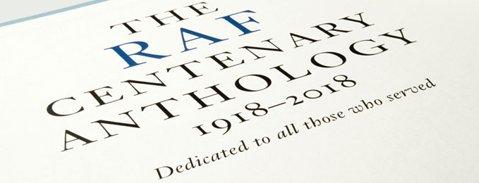 Final chance to subscribe to the RAF Centenary Anthology