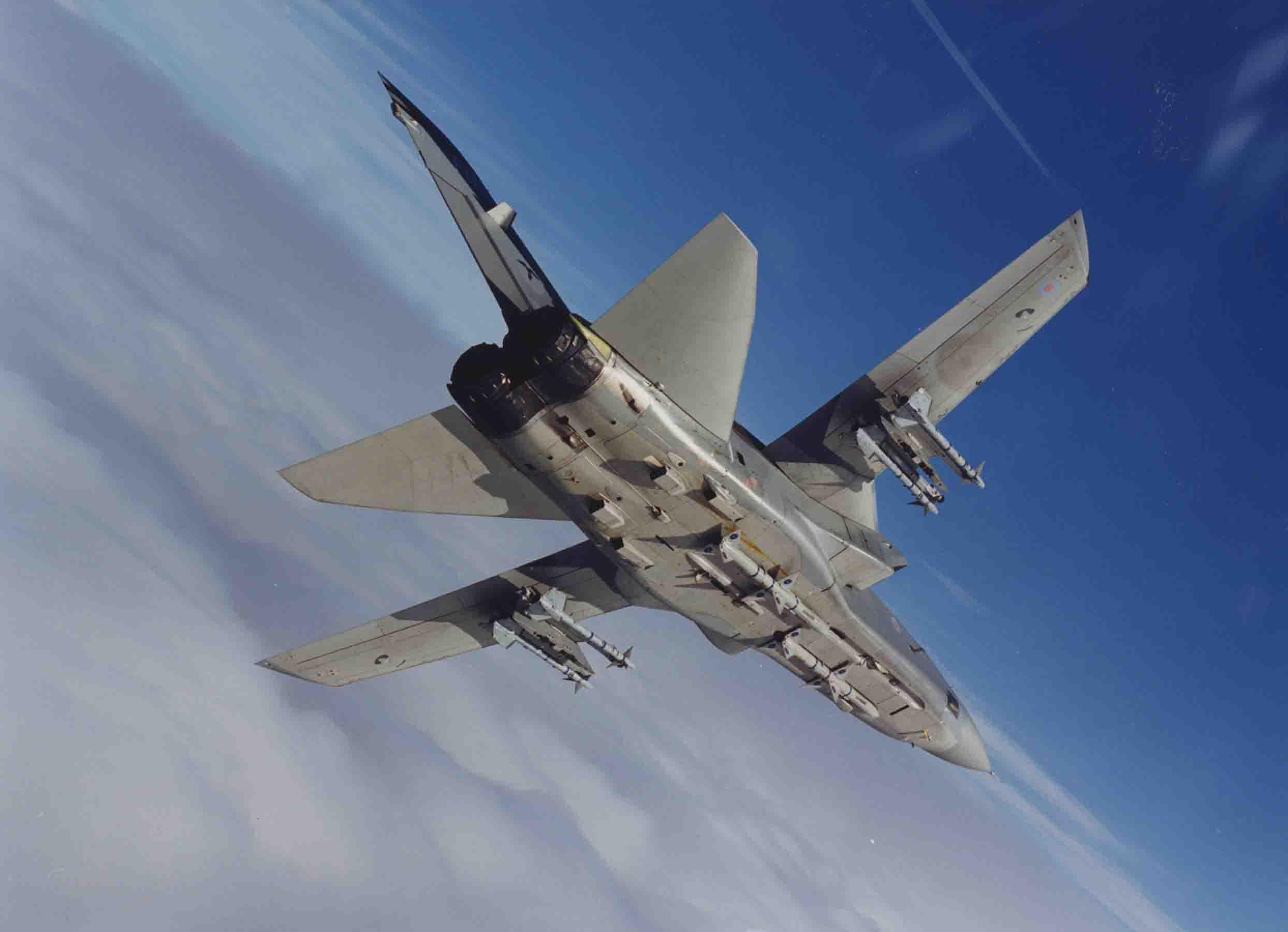 A Panavia Tornado in flight