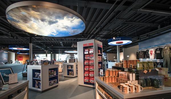 Our Museum shop in Hangar 1