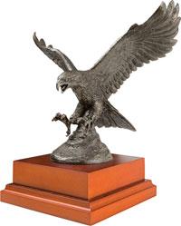 A RAF Eagle Ornament Engraved