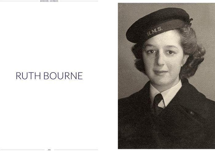 Ruth Bourne when in service