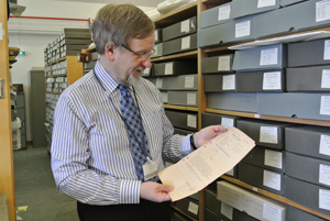 One of our archivists