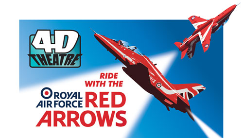 Ride with the Red Arrows in our latest 4D Experience
