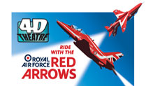 This summer ride with the Red Arrows!