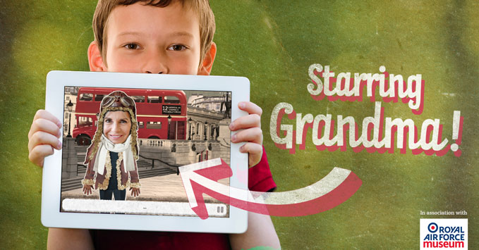Gingersnap is the new fun adventure app bringing grandparent and grandchildren together