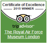 The Tripadvisor Certificate of Excellence for 2015