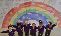 Colindale Primary School Brings colour to the RAF Museum