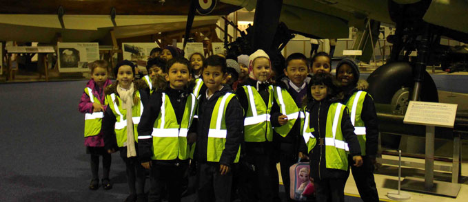 The pupils of Colindale Primary School
