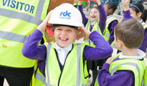 Colindale Primary School Students Get A Lesson in Safety
