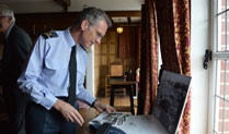 New RAF Chief Visits Museum