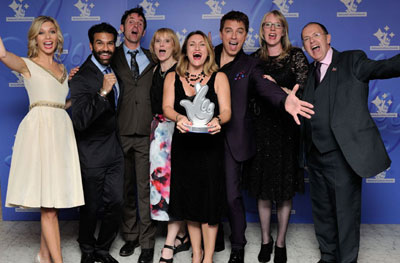 Our Team winning Best Heritage Project at the National Lottery Awards 2015